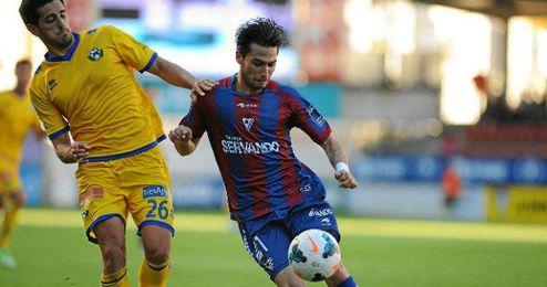 El Eibar no pudo pasar del empate ante el Alcorcón.