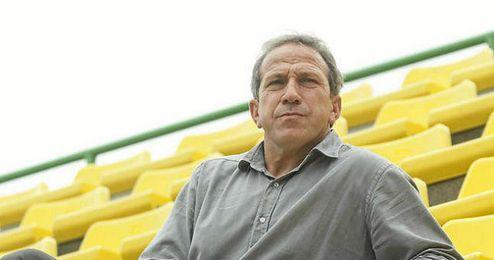 El entrenador Víctor Muñoz.