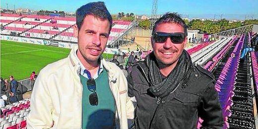 Fran Puentenueva y Antonio Serrato forman el nuevo cuerpo técnico del Osuna desde la semana pasada.