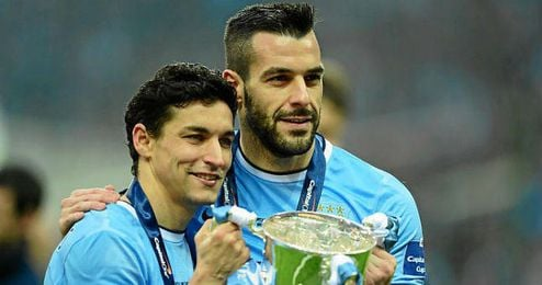 Negredo y Navas ya ganaron la Community Shield.