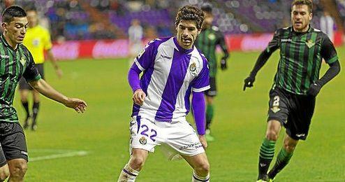 Lance del Valladolid-Getafe de la primera vuelta.