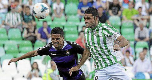 Jorge Molina hizo el segundo gol ante el Valladolid.
