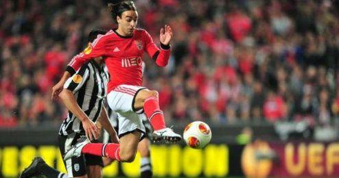Markovic en un lance del encuentro frente a la Juventus.