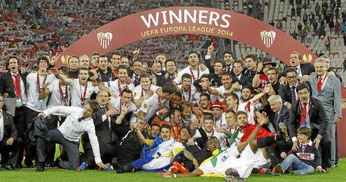El Sevilla sigue escribiendo su nombre con letras de oro en Europa.