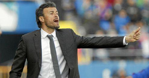 Luis Enrique vivirá el sábado ante el Valencia su último partido como entrenador del Celta.