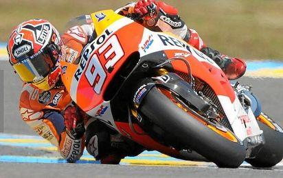 Marc Márquez, líder destacado de MotoGP.