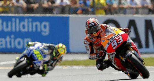 Márquez sigue imparable en esta temporada de MotoGP.