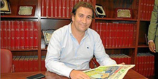 Catalán, nuevo accionista bético, en su visita a ED.