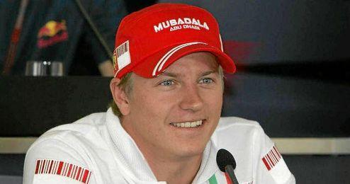 Raikkonen fichó esta temporada por el equipo Ferrari.