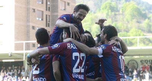 El Eibar jugará en Primera por primera vez en su historia.