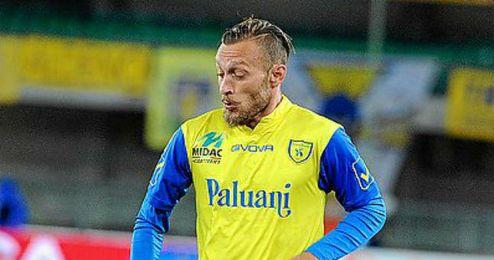 Tiberio Guarente, en las filas del Chievo Verona.