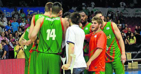 El Cajasol se presenta en la Fonteta con ganas de dar la campanada y eliminar al Valencia Basket.