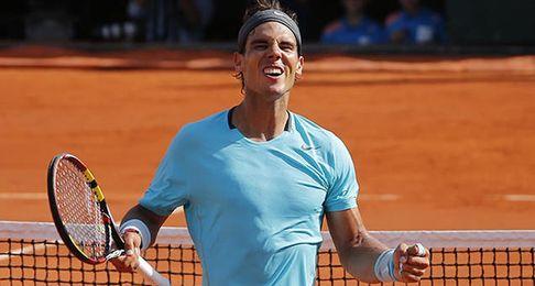 Nadal no sufre y alcanza su novena final en Roland Garros