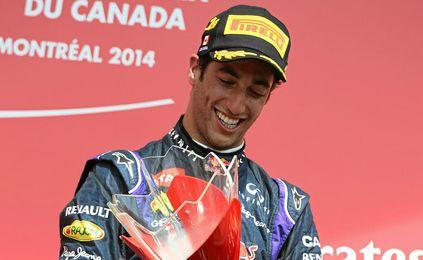 Ricciardo logró su primera victoria como piloto de Formula 1.