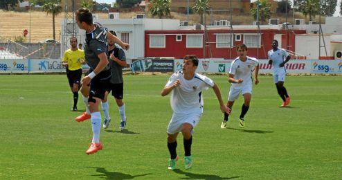 Imagen del choque de ida de cuartos ante el Espanyol.