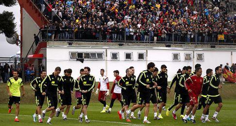 La selección causa furor en Brasil.