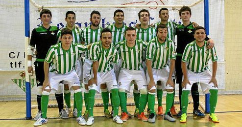Plantilla del Real Betis FSN.