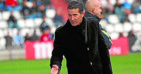 Juan Merino en una etapa anterior como entrenador