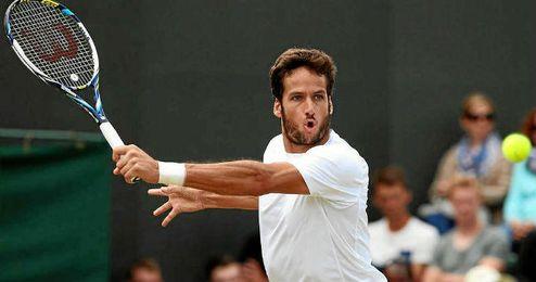 Feliciano sigue obteniendo buenos resultados en la hierba de Wimbledon.