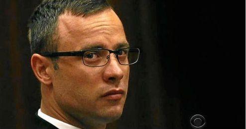 Óscar Pistorius durante su juicio