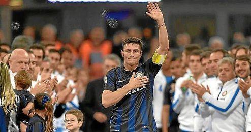 Zanetti colgó las botas hace unas semanas, ahora será vicepresidente del Inter de Milan.