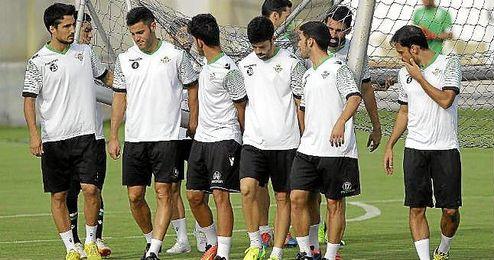 Entrenamiento del Real Betis.