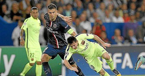 El Barça perdió ayer en París.