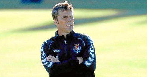 Rubi, entrenador del Real Valladolid.