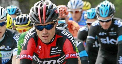 Samuel Sánchez durante la Vuelta a Cataluña.