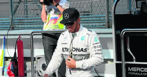 Lewis Hamilton, líder del Mundial con 266 puntos.
