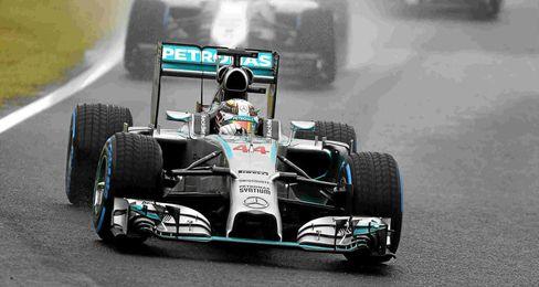 Hamilton va camino del título.