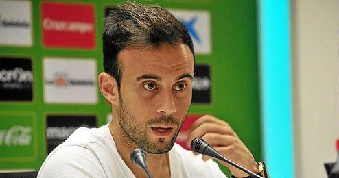 Francisco Molinero durante una rueda de prensa.