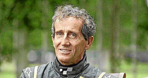El expiloto Alain Prost.
