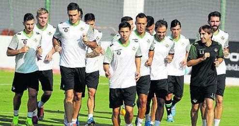 Jugadores como Molina, Pacheco, Kadir o Matilla (sobre estas líneas) deberían comenzar a sumar en la faceta goleadora del equipo.