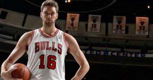 Gasol llegó a los Bulls este verano procedente de Los Angeles Lakers.