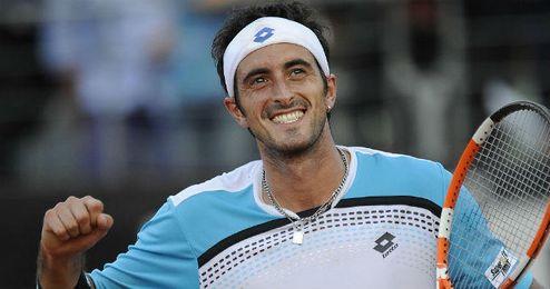 Potito Starace, uno de los tenistas implicados en la presunta trama.