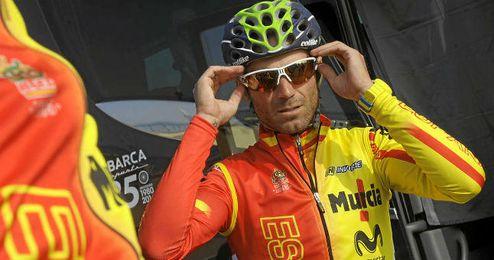 Alejandro Valverde acaba el año como el mejor ciclista.