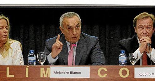 Alejandro Blanco en la sede del COE.