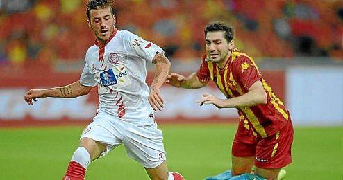 El Sevilla se enfrentó al Selangor en Kuala Lumpur.