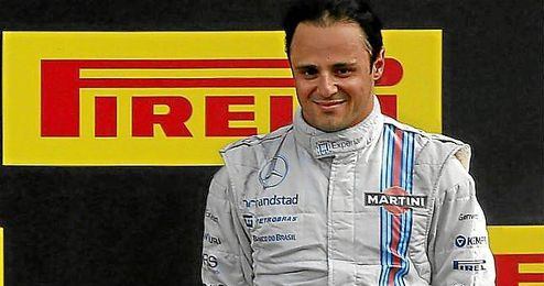 El piloto de Williams, Felipe Massa.