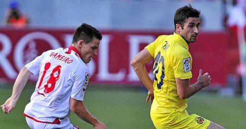 Imagen del último enfrentamiento en el Sánchez Pizjuán entre Sevilla y Villarreal.