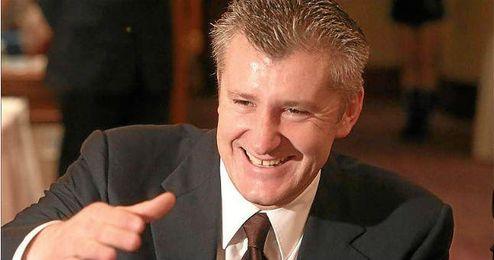 Davor Suker, Presidente de la Unión de Fútbol croata.