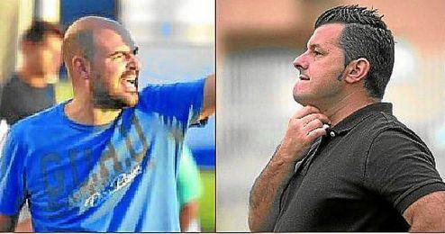 Los entrenadores de La Liara y Los Palacios.