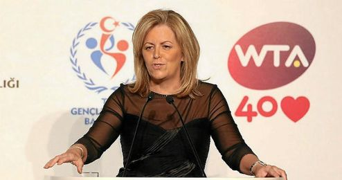 Stacey Allaster, presidente de la WTA