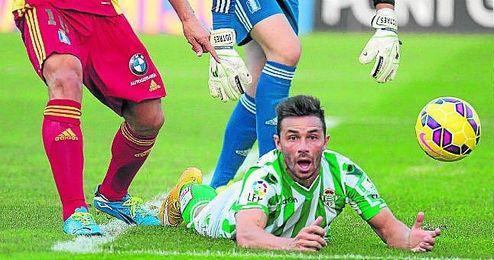 Rubén a 5 goles de entrar en el olimpo bético.