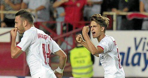 Sabadell 1-6 Sevilla F.C.: Minuto a minuto
