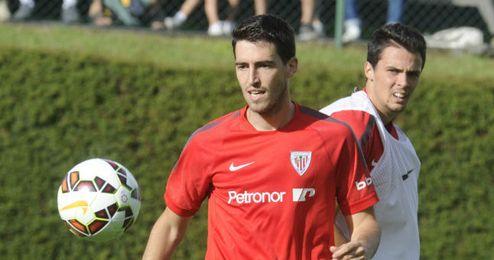 Iraola en un entrenamiento de la presente temporada.