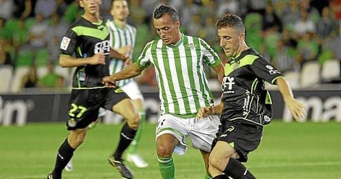 Imagen del Betis-Llagostera de Copa.