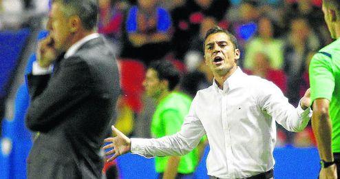 La temporada pasada, con Francisco en el banquillo, el Almería cayó en segunda ronda de Copa ante el Racing.