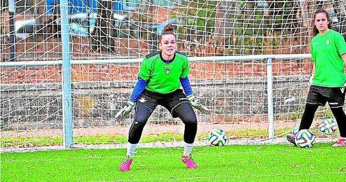 Miriam López es la portera menos goleada del Grupo IV de Segunda (6), una buena labor que tiene al Betis arriba.